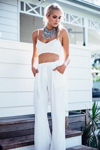 shirt crop tops brustier white bralette white bralette white top sexy white top crochet crop top