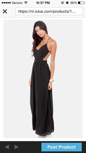 dress black long dress long prom dress prom dress black prom dress backless prom dress