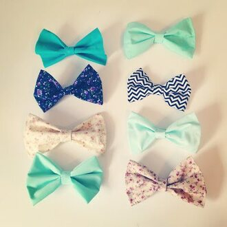 jewels hair bow bowtie cute cute bow tie bows bow flowers tumblr light blue blue hair accessory hat