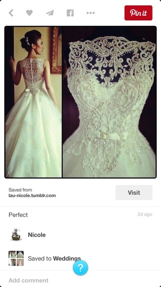 dress white white dress bow dress wedding dress