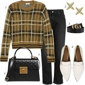 dailystylefinds,blogger,bag,dress,jeans,jacket,t-shirt,cardigan,coat,shoes,sweater,scarf,fall outfits,black bag,gucci belt,loafers,white loafer