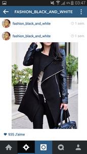 black coat,jacket,style