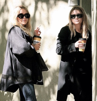 mary kate olsen coat olsen sisters