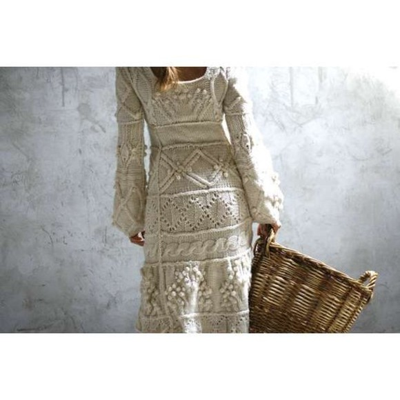 dress knit dress lace dress white lace dress knitwear