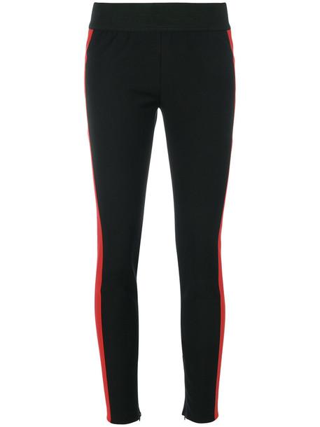 leggings women spandex cotton black pants
