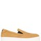 40mm tiger suede slip-on sneakers