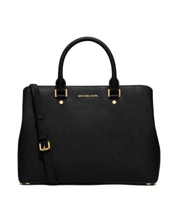 savannah large saffiano leather satchel michael kors. Black Bedroom Furniture Sets. Home Design Ideas