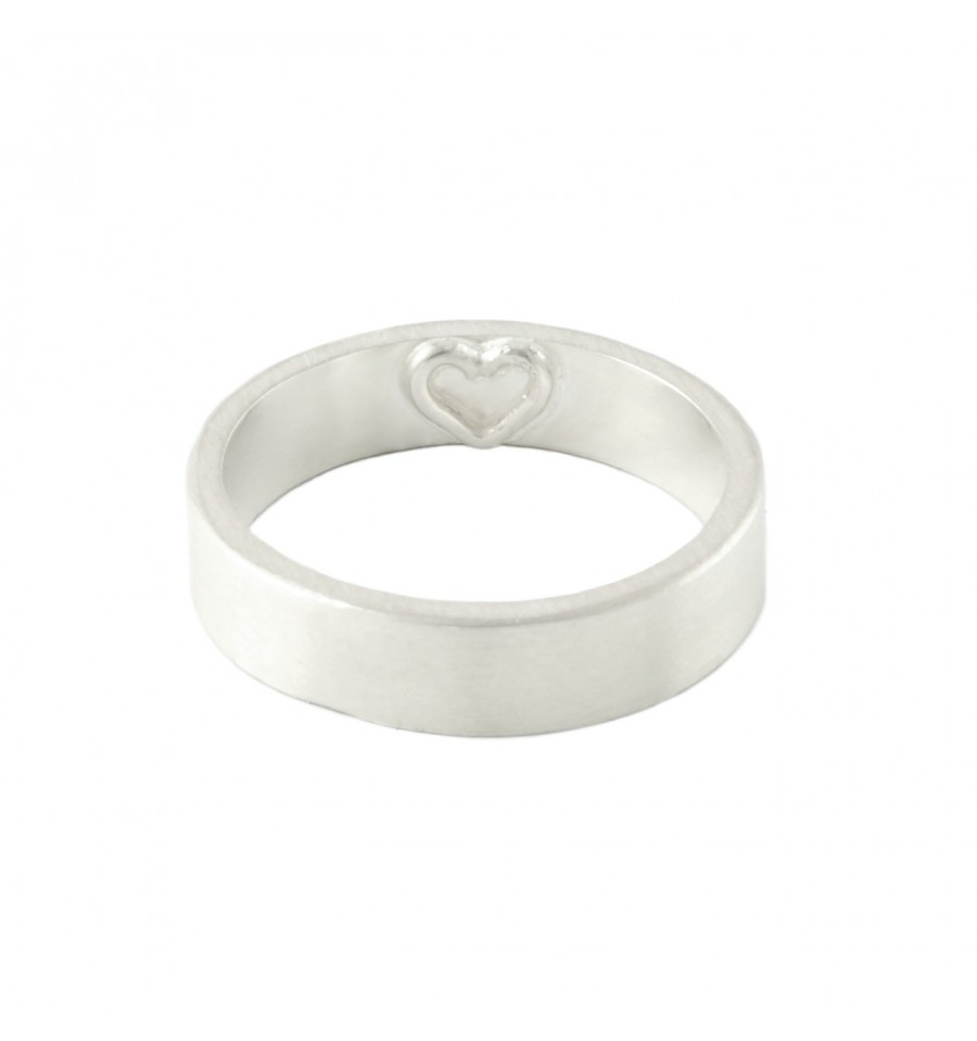 Heart Ring | 999 Sterling Silver Ring | Couples Rings
