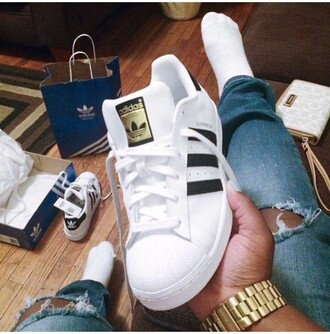 shoes adidas superstars adidas classic gold men's