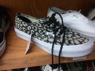 shoes vans cheetah print shoes grey