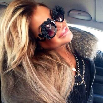 sunglasses black sunglasses black round sunglasses pointed toe kylie jenner