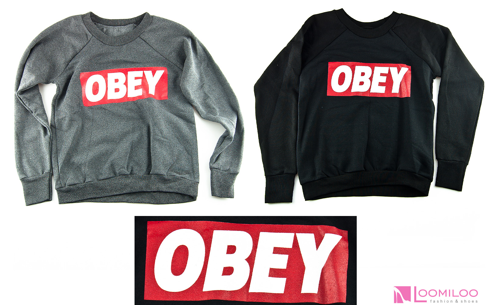 OBEY Sweater Sweatshirt Pulli Pullover Damen Kanye Yolo Hipster Swag | eBay