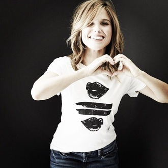blouse sophia bush t shirt print