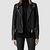 Womens Range Leather Biker Jacket (Black) | ALLSAINTS.com
