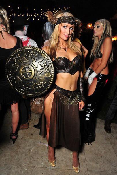 Top Celebrity Halloween Costume Paris Hilton Celebrity