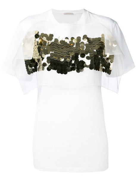 CHRISTOPHER KANE t-shirt shirt t-shirt women white cotton top
