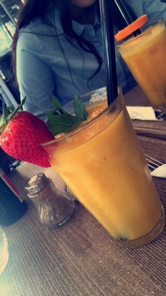 sunglasses mango strawberry