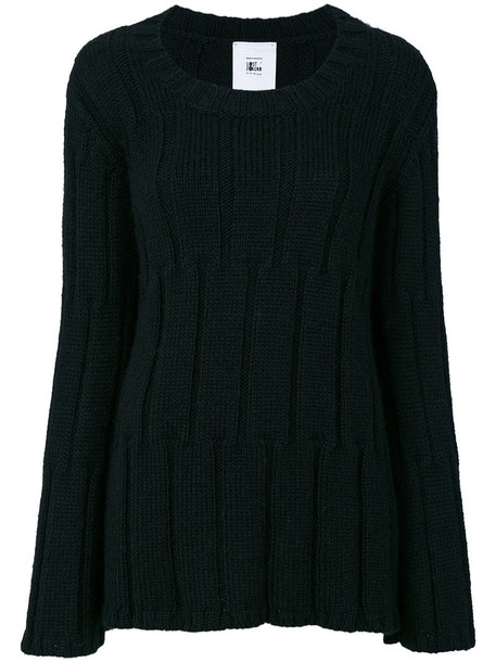 Lost & Found Rooms jumper women black wool sweater