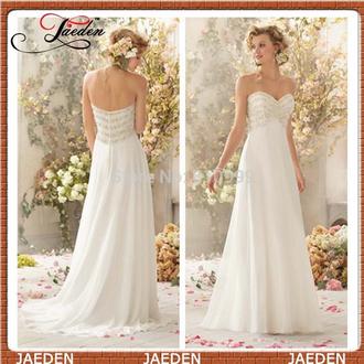 romantic wedding dress chiffon dress elegant wedding dress sweetheart dresses
