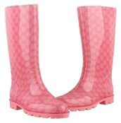 shoes,gucci,pink,bots,boots,wellies,luxury