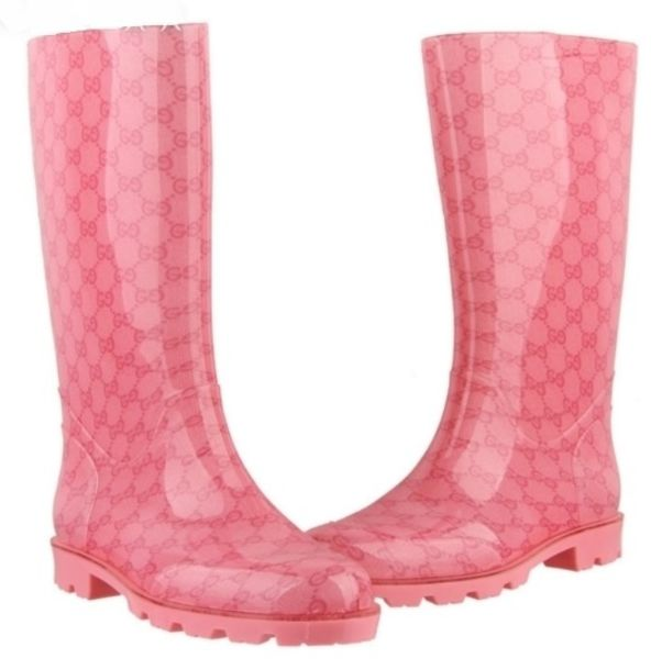 407d69c8125c shoes gucci pink bots boots wellies luxury
