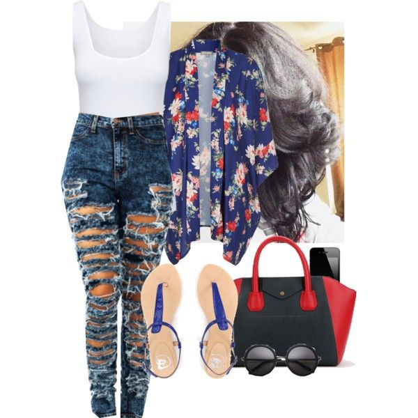 shoes kimono jeans purse top bag