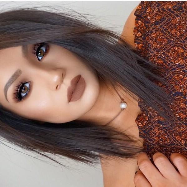 Make Up Fall Makeup Look Tumblr Dark Lipstick Lipstick