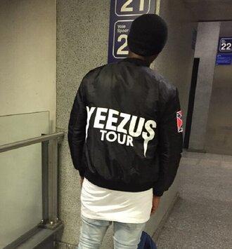 jacket ogvibes dope fashion trendy style unisex yeezus mens jacket bomber jacket