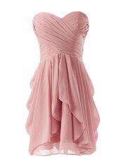 homecoming dress,short chiffon bridesmaid dress,blush bridesmaid dress,new homecoming dress,2014 homecoming dress