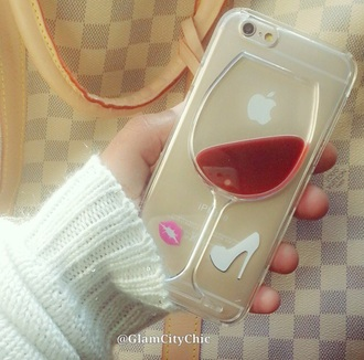 earphones case iphone 5 phone cover wine phone case