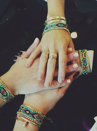 jewels bracelets jewelry stacked bracelets