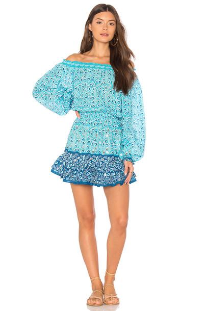 Juliet Dunn dress blue