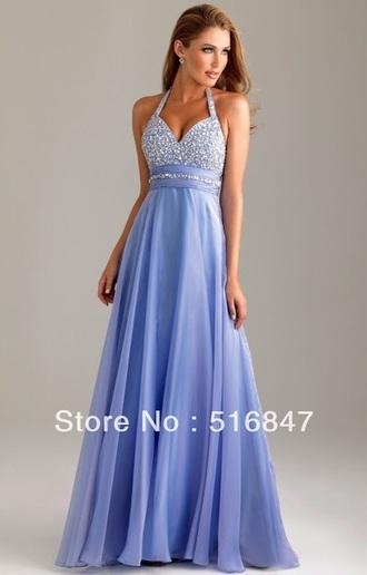 prom dress purple dress