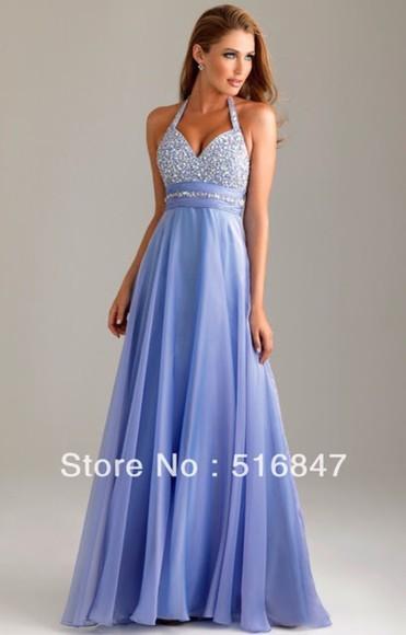 purple dress prom dress