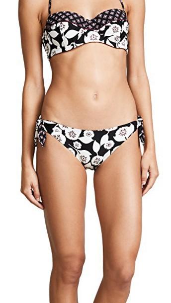 Kate Spade New York bikini bikini bottoms beach black swimwear