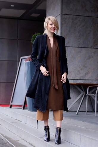ohh couture blogger culottes black coat