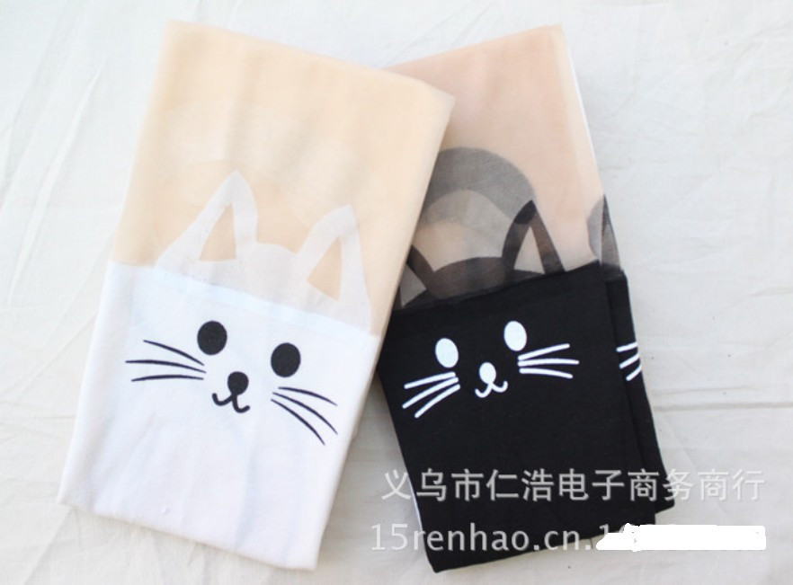 20 x Tattoo Cat with tial Sex Pantyhose Stockings Harajuku Tights top part skin color 8 colors for choice-in Tights from Apparel & Accessories on Aliexpress.com