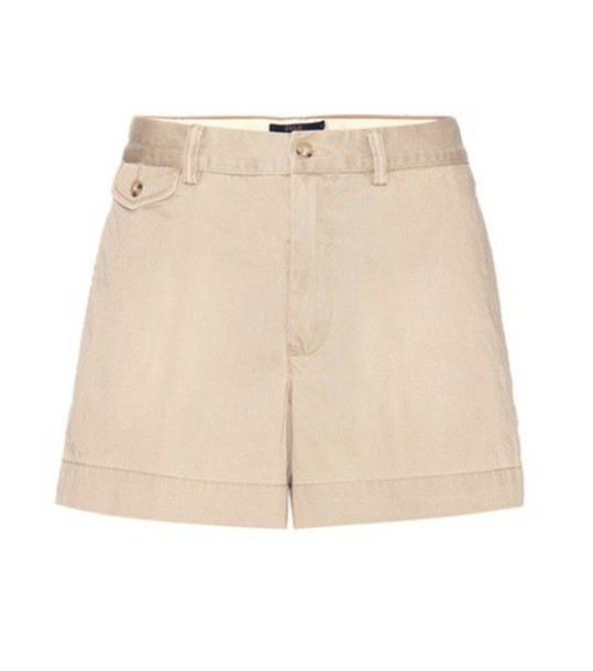 Polo Ralph Lauren Cotton Shorts in beige / beige