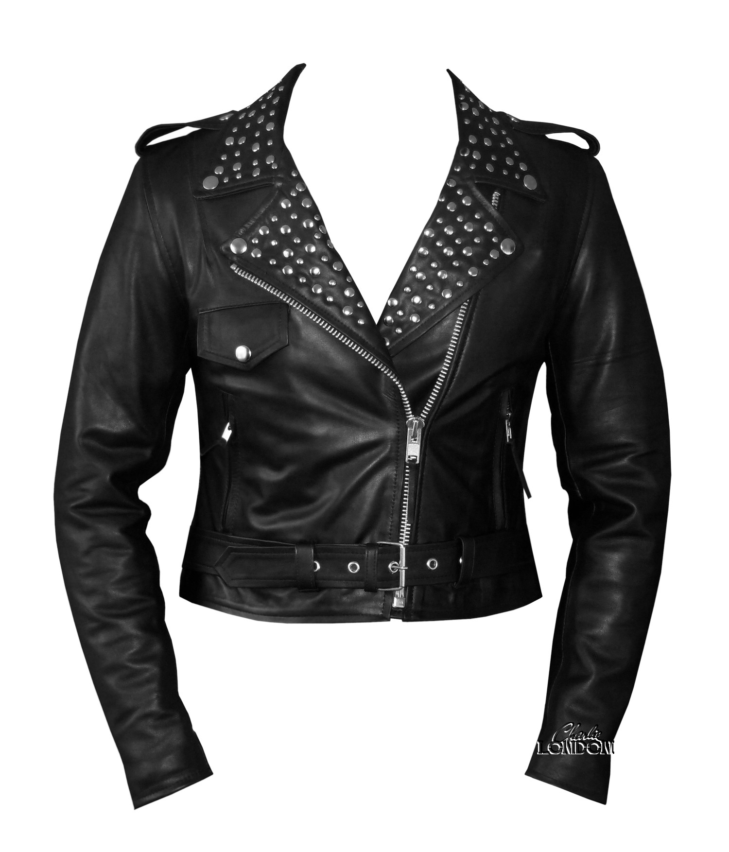 Women's Fashion Leather Jacket | Charlie London - Leather Jackets for Men and Women - FREE UK DELIVERY