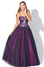 dress,purple,looking for brighter colours,balklänningar,violet,black purple dress,purple and pink prom dress