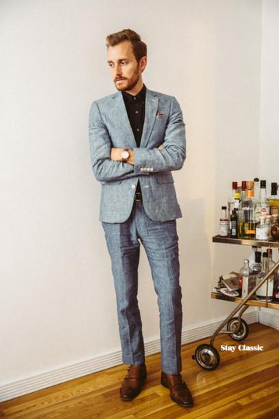 stay classic blogger jacket jewels menswear black shirt