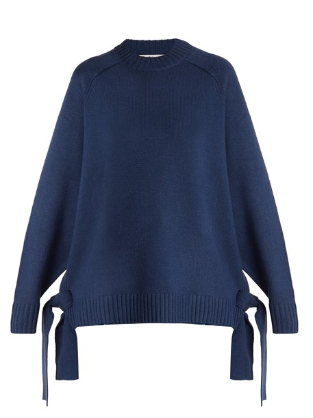 Tibi sweater blue
