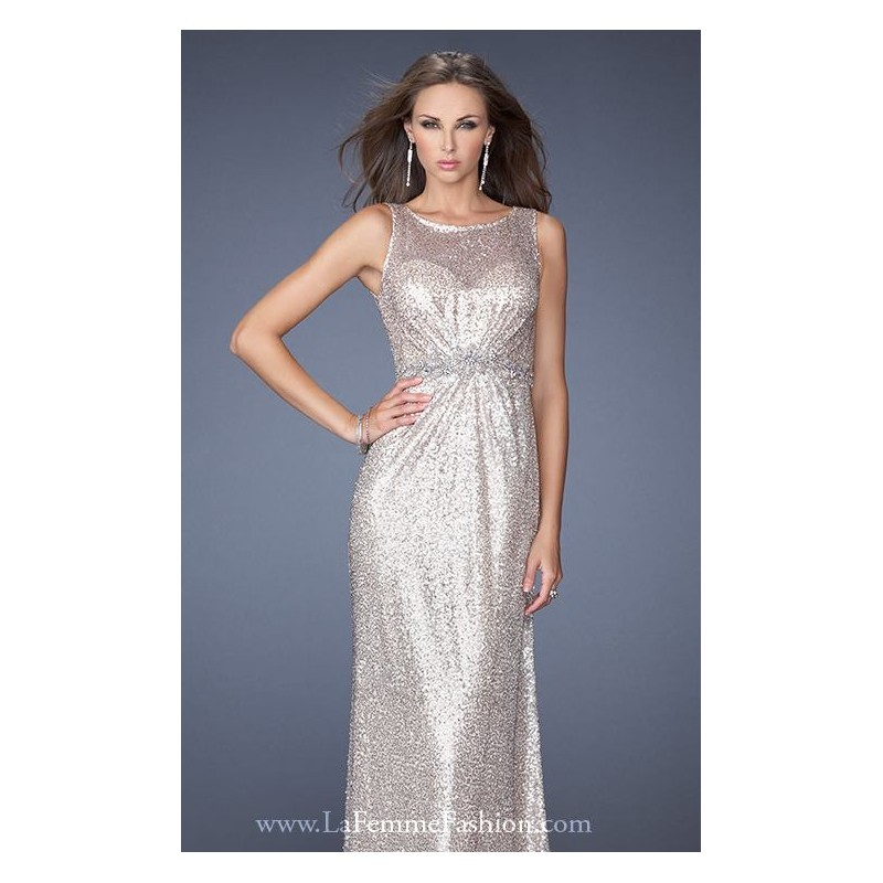 Vintage Style Fitted Gown 19747 - Bonny Evening Dresses Online