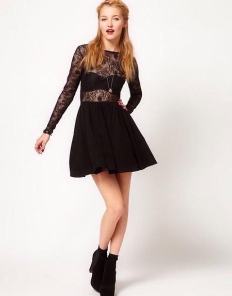 dress black dress black heels shoes