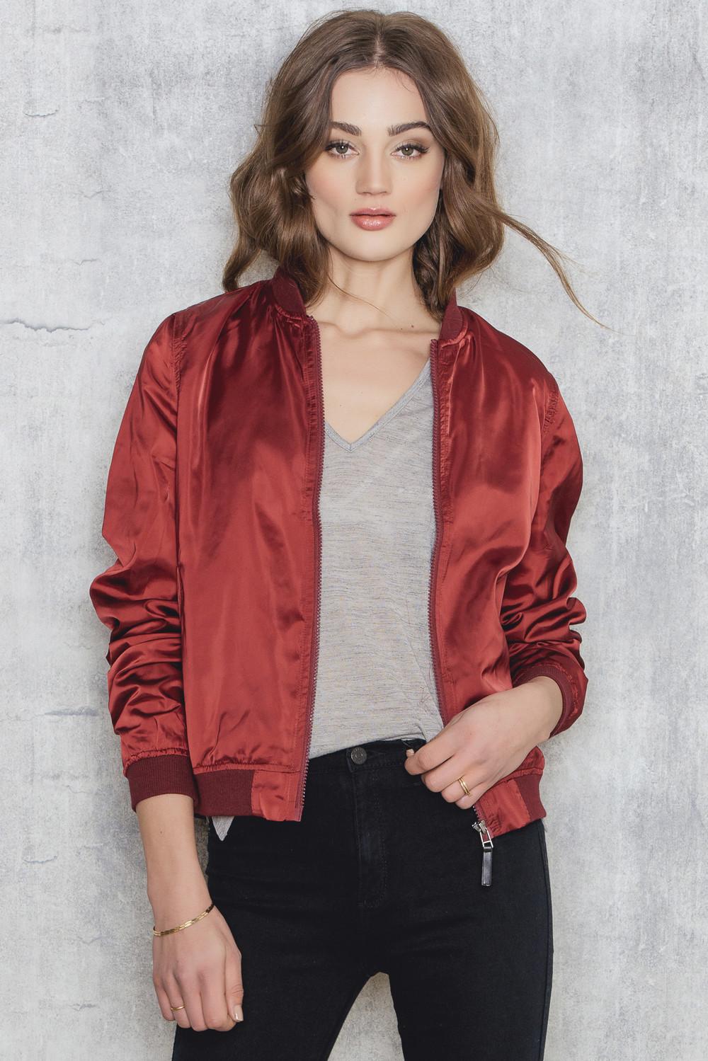 Sally & Circle Price Linda 2 bomber jacket
