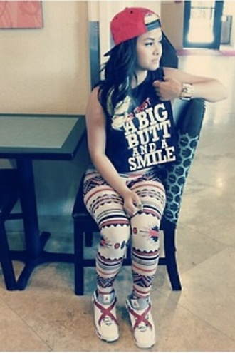t-shirt pants christmas leggings