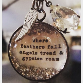 jewels angels wings feathers