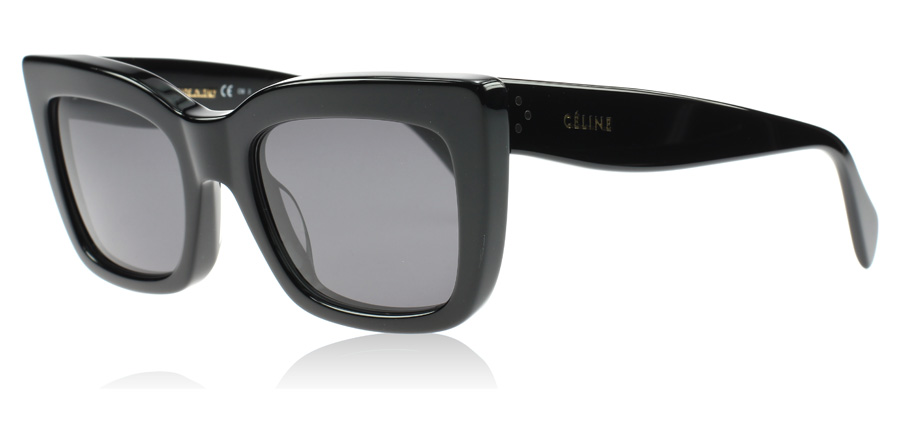 34577d1be80d Celine Deep Square Sunglasses   Deep Square Black 807BN   UK