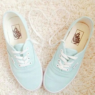 shoes vans mint