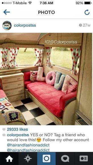 hippie pajamas lovers + friends letters print home decor